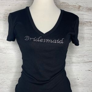 Old Navy Fitted Small Bridesmaid Tee.